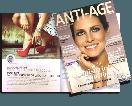 Article Docteur Essayagh dans la revue Anti-âge