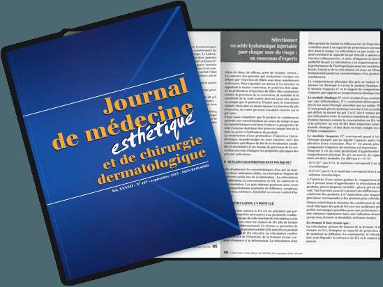 Article dans le Journal de Médecine Esthétique