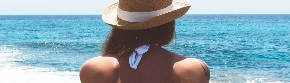 Soins pour la peau en été